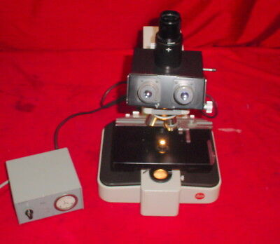 Leitz Wetzlar GMBH Orthoplan Universal Large Field Research Microscope w/Lamp