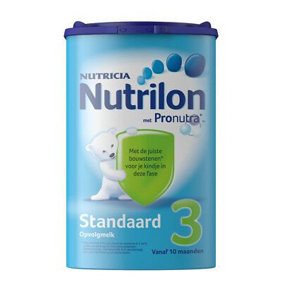 Nutrilon Follow-up Milk Standard 3 800G / 28.2oz 100% ORIGINAL DUTCH Baby 10M +