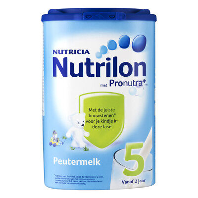 Nutrilon Peuter Milk 5 Todler 800G / 28.2oz 100% ORIGINAL DUTCH Baby Age 2+