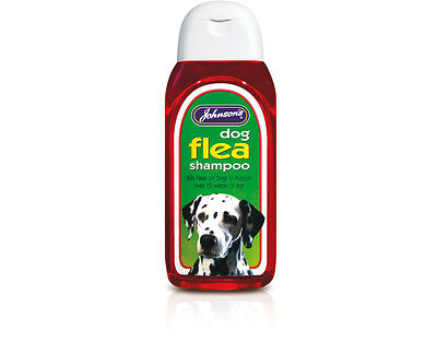Johnsons Veterinary Dog Flea Shampoo 200ml