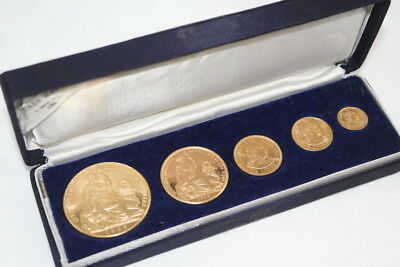 *** Low-Mintage *** (Only 540 Minted!!) Rare 1969 Peruvian Gold Soles Oro Set