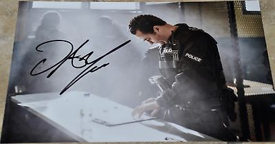 """Daniel Mays Signed 12"""" x8"""" Colour Photo Line Of Duty #2"""