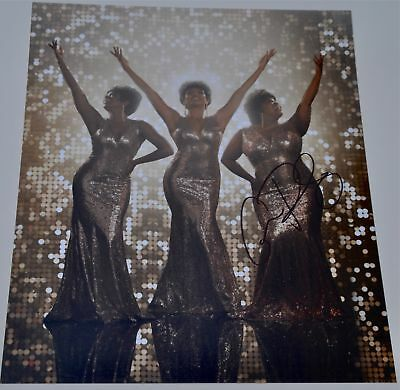 """Amber Riley Signed 12""""x8"""" Colour Photo Dreamgirls Glee"""