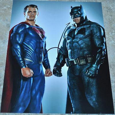 "Ben Affleck Signed 10"" x 8"" Photo Batman v Superman"