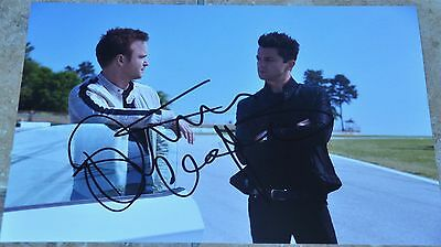 """Dominic Cooper Signed 12"""" x 8"""" Colour Photo Need For Speed"""