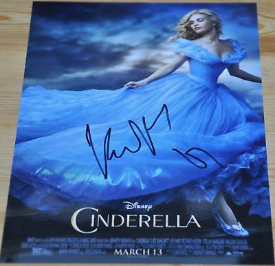 "Kenneth Branagh Signed 12"" x 8"" Photo Diney Cinderella Dunkirk"
