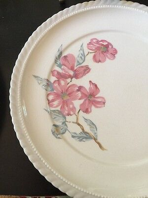Steubenville Monticello Dinnerware Dinner Plates Dogwood Pattern