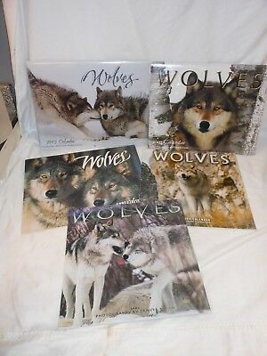 Vintage Wolves in the Wild Wall Art Calendars Photographs Prints