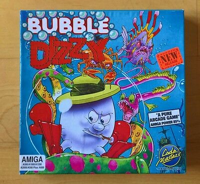 Bubble Dizzy by Code Master for Commodore Amiga **Tested**