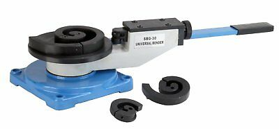 Erie Tools® Bench Mount Scroll Bar Bender for Angular Roll Hoop and Coil Bending