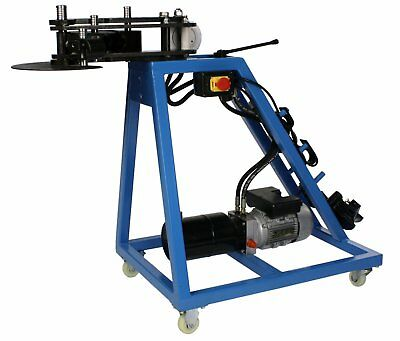 Erie Tools® 10 Ton Electric Hydraulic Pipe Tube Bender, Round Tube Die Package