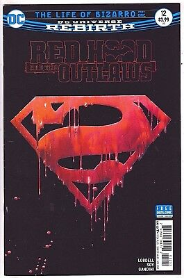 Red Hood And The Outlaws#12 Vf/nm 2017 Rebirth Dc Comics