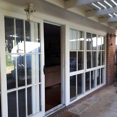 Timber windows/glass/ cottage windows complete