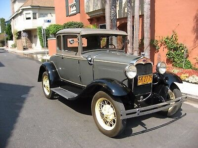 1930 Ford Model A 45B Coupe. California, Rust Free, Example 1930 Ford Model A Coupe. California, Rust Free, All Steel Beautiful Example