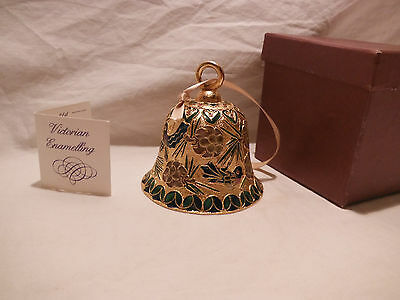Victorian Enamelling Ornament Bell Peter Faberge