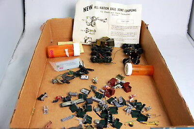 O Scale Box Lot Trailer Truck, Power Trucks, Couplers, Ball Joint Coupling+++ #2