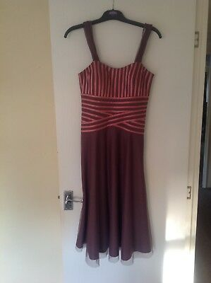jaques vert mother of the bride dress size 10