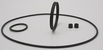 Gaf Projector 3 Belt 4 Tire Kit --1  Tilton & 2  round belts 588 688 888 1388