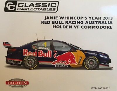 1:18 Jamie Whincup 2013 Red Bull