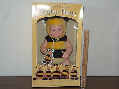 Anne Geddes Baby Bees #526511 Stuffed Plush Bee Doll 1997