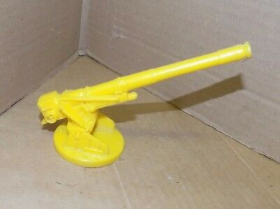 Marx Guns of Navarone play set large yellow cannon from mountain