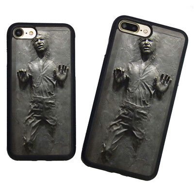 Star Wars Han Solo Frozen in Carbonite Soft Rubber Case Cover For iPhone7 8 Plus