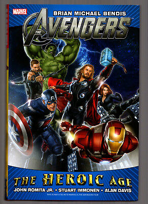AVENGERS BY BRIAN MICHAEL BENDIS: HEROIC AGE - HC Hardcover Marvel Graphic Novel