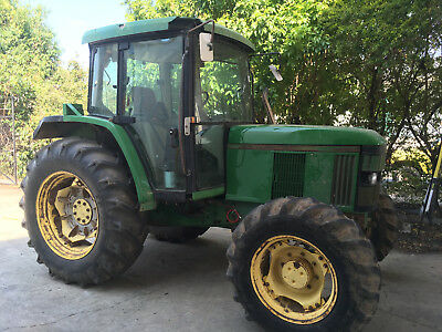 Tractor John Deere 6110 84HP AC CAB 4wd For Sale Wet Clutch