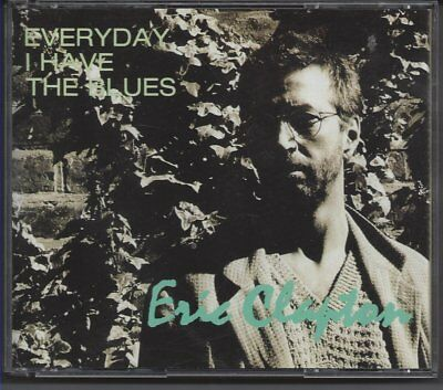 """Eric Clapton """"Everyday I Have The Blues""""  OOP Rare 2Cd  Tokyo Japan 1995"""