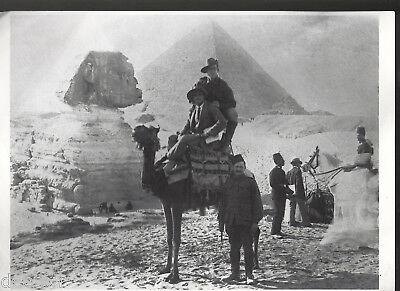 Ww11 Australian Troops In Eygpt Camel Riding Large Photograph A 4 Size