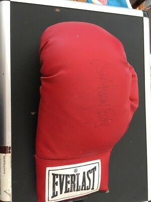 Sir Henry Cooper Personally Signed Everlast Boxing Glove