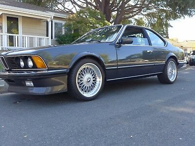 1984 BMW 6-Series 6-Series e24 M635csi Classic Euro Shark **low reserve** 1984 BMW 6-Series e24 M635csi Classic Euro Shark