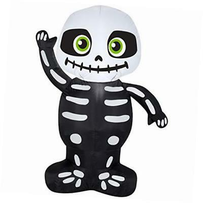 airblown inflatable skeleton by gemmy industries