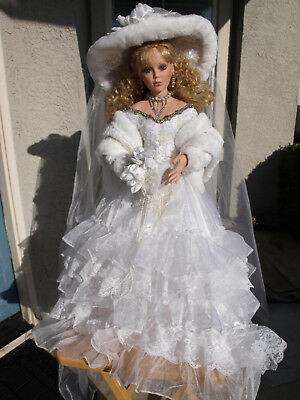 Rustie doll - Beautiful Bride 'Winter Bliss'  28""