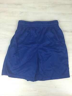 Augusta Sportswear Youth Medium Mesh Athletic Gym Workout Shorts Blue Lot of 6