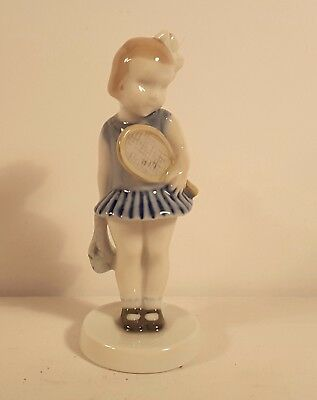 Rosenthal Figure- Claire Weiss - Girl with Racket