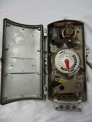 Ge Astronomic Time Switch City Of New York #45429-Sol General Electric