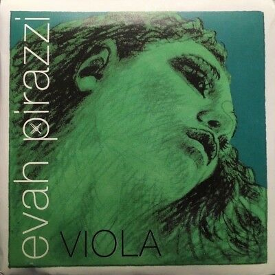 Evah Pirazzi Viola Strings - Full Set with Ball/loop A, Silver D, G and C