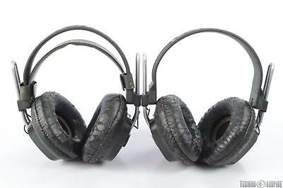 """2 Fostex T40 RP T40RP Stereo Headphones 1/4"""" TRS #29338"""