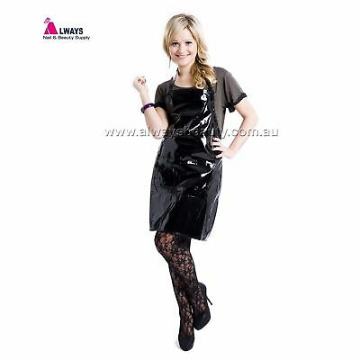 Black Hairdressing Apron Black For Chemical Services Aussie Sale