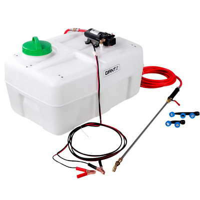 50L Electric Weed Sprayer Garden Farm 12V Battery Pump Tank Chemical Spray 80psi