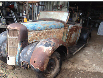 1935-36 Dodge Pickup RatRod Project