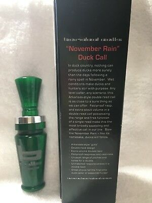 "Banded Calls ""November Rain"" Duck Call - NEW"