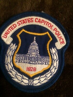 DC Police -  US Capitol Police  DC Police Patch