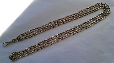 Antique Vintage Simmon 12K Gold Filled Pocket Watch Chain