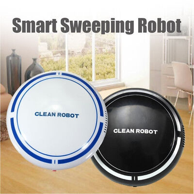 Automatic USB Rechargeable Smart Robot Vacuum Floor Cleaner Suction Sweeper
