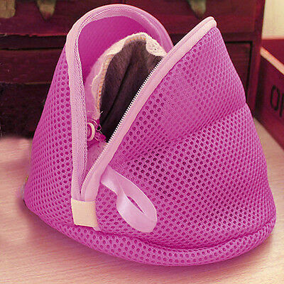 Zipped Wash Bag Laundry Washing Mesh Net Lingerie Underwear Bra Clothes Socks 1