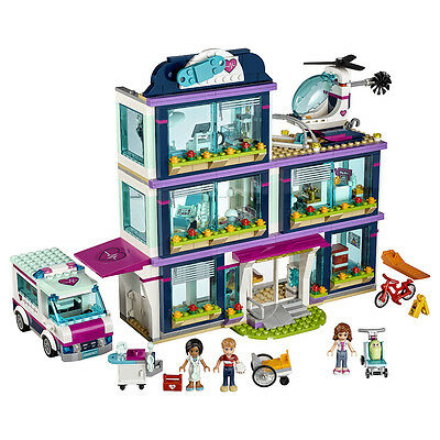LEGO Friends Heartlake Hospital (41318) Play Set & Mini-Doll Figures
