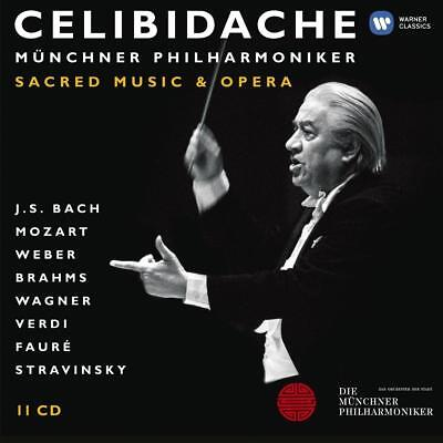 Celibidache Volume 4: Sacred Music and Opera Cofre, CD, Recopilación