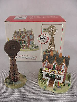 Liberty Falls Aunt Alice's Quilt Shop Farmer Wilson's Windmill with Box AH126